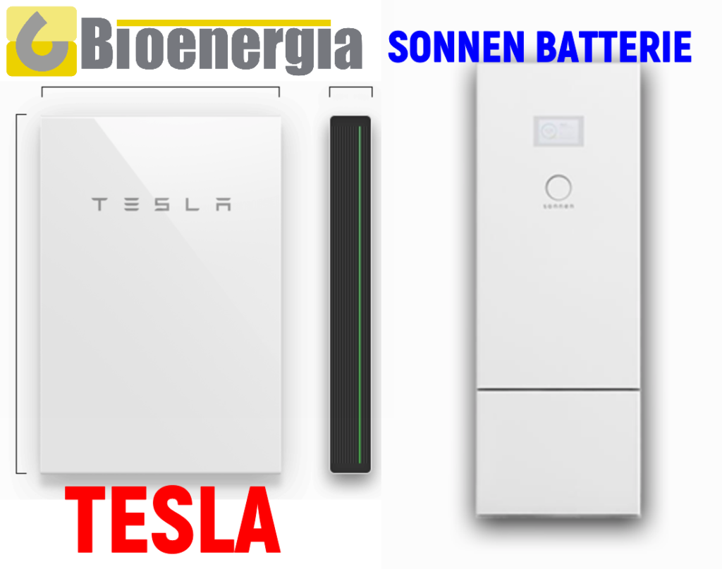 tesla powerwall2 sonnen batterie