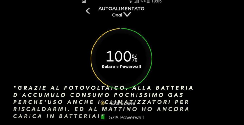 autoconsumo fotovoltaico e batteria